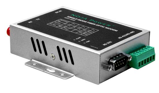 Одномодовый модем-конвертер RS232 в оптику
